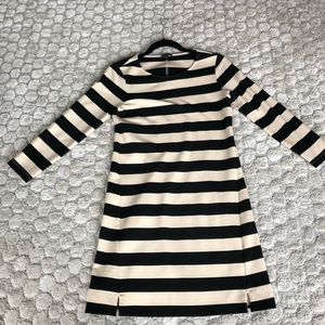 Theory Black and Off-White Dress Small - NWOT